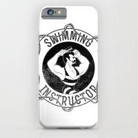 Swimming instructor iPhone 6 Slim Case