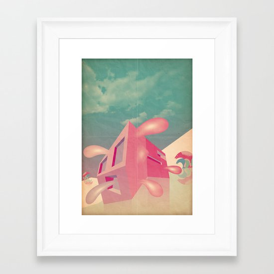 a r c h i t e t t u r a i m p a z z i t a Framed Art Print