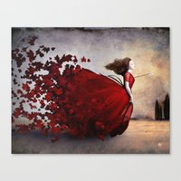 Canvas Prints featuring Amor by Christian Schloe