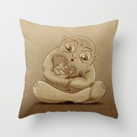 A Fairy Tale Throw Pillow