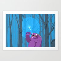 Ghost of Mello Marsh Art Print