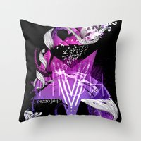 The Number Five Throw Pillow