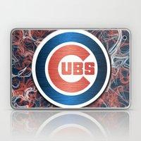 Cubs swirl Laptop & iPad Skin