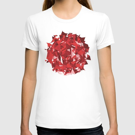 Abstract Red T-shirt