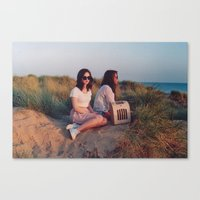 retro Canvas Print