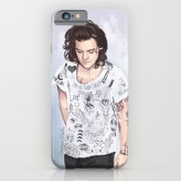iPhone Cases featuring Harry 1D tattoos T-shirt by Coconut Wishes