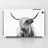 Portrait Of A Highland C… iPad Case