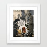 Kleptomaniac Framed Art Print