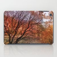 Mad colors of Autumn iPad Case