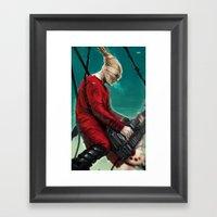 Doof Warrior Framed Art Print