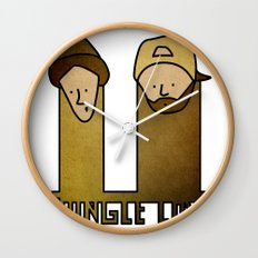 Jay and Silent Bob Strike Back (2001) Wall Clock