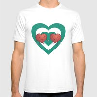 Heart 2 Heart Mens Fitted Tee White SMALL