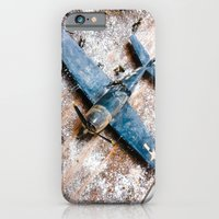 iPhone Cases featuring Airplane by Mauricio Santana