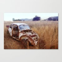 Rusty, Broken And Forgot… Canvas Print