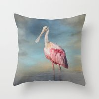 Call Me Rosy Throw Pillow