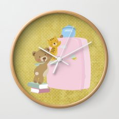 We love biscuits Wall Clock
