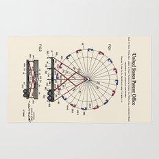 Amusement Ride Patent Rug
