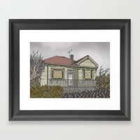 House 04 Framed Art Print