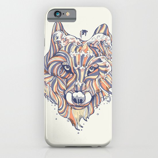 Wave Wolf iPhone & iPod Case