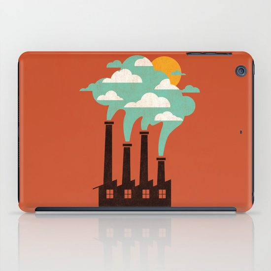 The Cloud Factory iPad Case