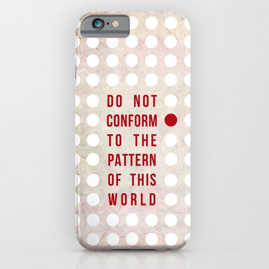 Don't Conform iPhone & iPod Case