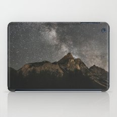 Milky Way Over Mountains - Landscape Photography iPad Case