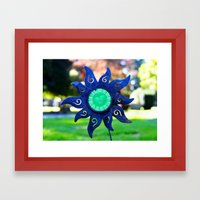 Cemetery Sol Invictus Framed Art Print