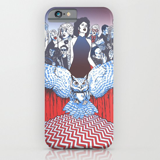 BLACK LODGE BURLESQUE iPhone & iPod Case