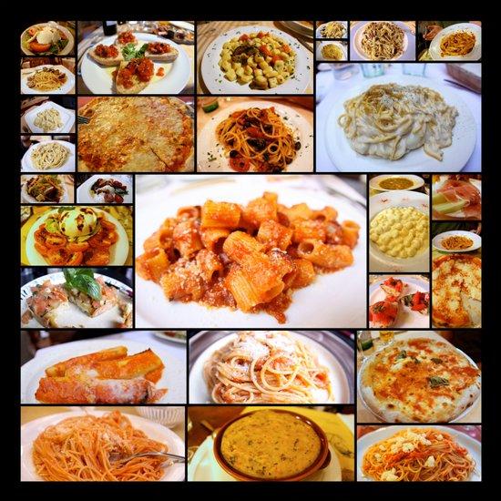Food of Italy Art Print