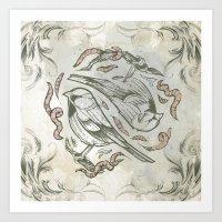 Bird Life 1 Art Print