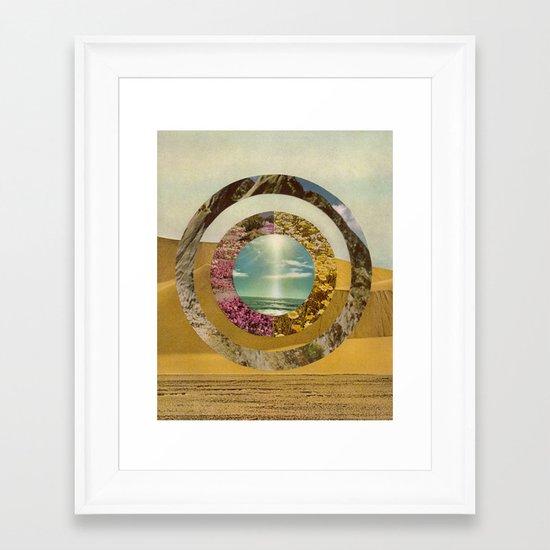 Nature Scene Framed Art Print