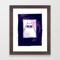 Ray Ban Framed Art Print