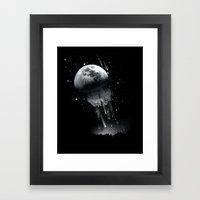 Jellymoon Framed Art Print