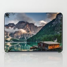 Italy mountains lake iPad Case