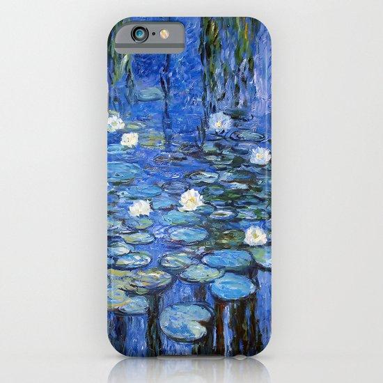 water lilies a la Monet iPhone & iPod Case