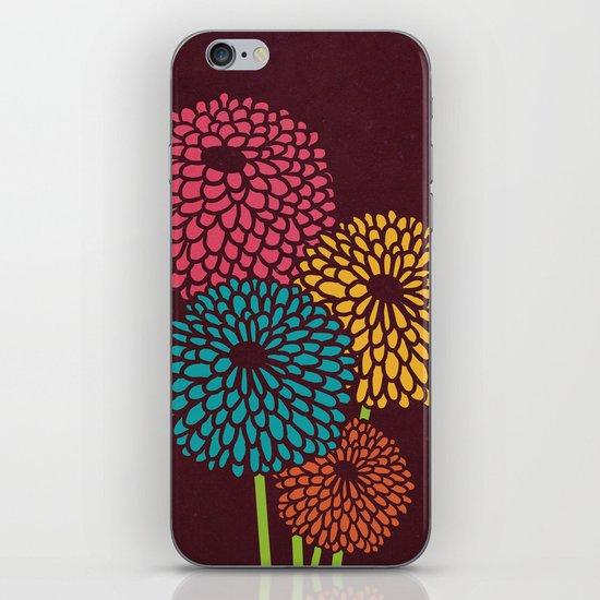 Still Life Chrysanthemum iPhone & iPod Skin