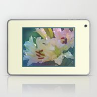 White Lilies Laptop & iPad Skin