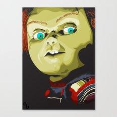 Wanna play?! Canvas Print