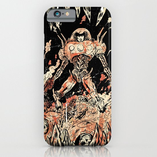 Dogs of Mars pin-up iPhone & iPod Case