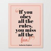 Fun! Canvas Print
