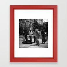 sing // film // Framed Art Print