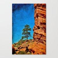 Red Rocks Colorado Canvas Print
