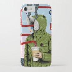 Caffeine Boost iPhone 7 Slim Case