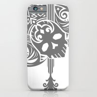 iPhone & iPod Case featuring Pirate Skull by happiestfung