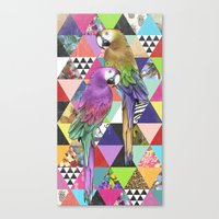 A bit of tropical geometry Canvas Print