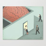 Brain Room Canvas Print