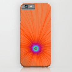Tangerine Color Explosion iPhone 6s Slim Case