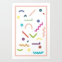 Languages Art Print