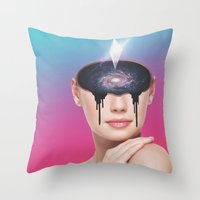 Self Throw Pillow
