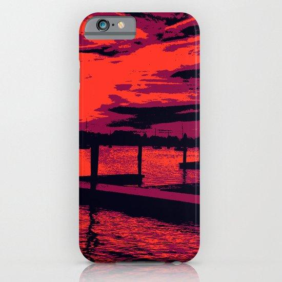 Sunset Over Bristol Harbor iPhone & iPod Case